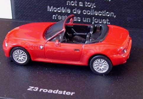 Foto 1:87 BMW Z3 1.8 facelift rot Werbemodell herpa 80419411716