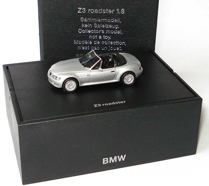 Foto 1:87 BMW Z3 1.8 facelift silber-met. Werbemodell herpa 80419411719