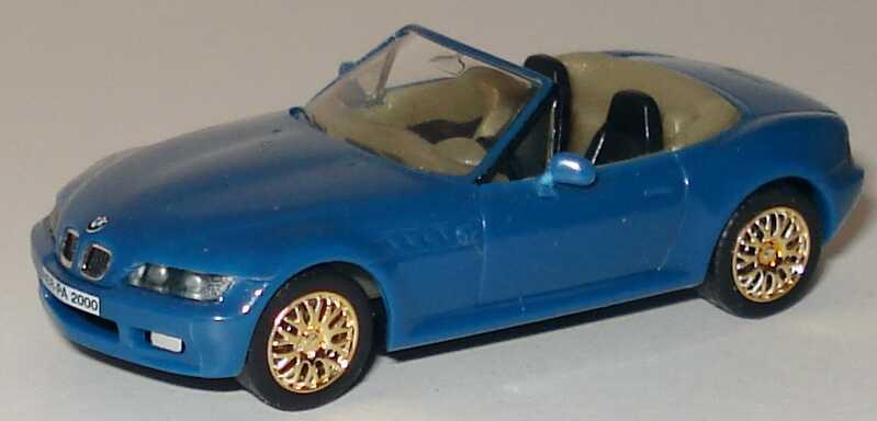 1 87 Bmw Z3 Facelift Graublau Felgen Gold Herpa Aus189286