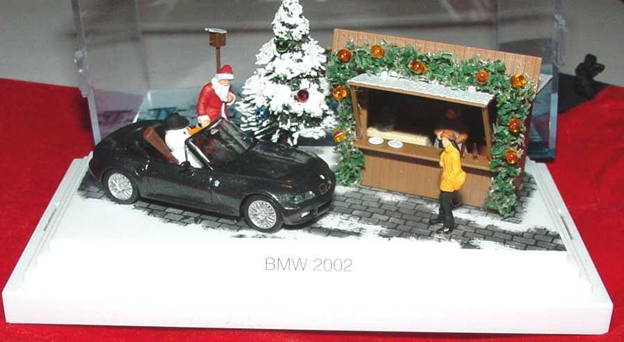 Foto 1:87 BMW Z3 facelift schwarz-met. BMW Weihnachten 2002 Werbemodell herpa 80410152368