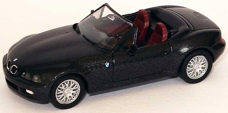 Foto 1:87 BMW Z3 facelift schwarz-met. herpa