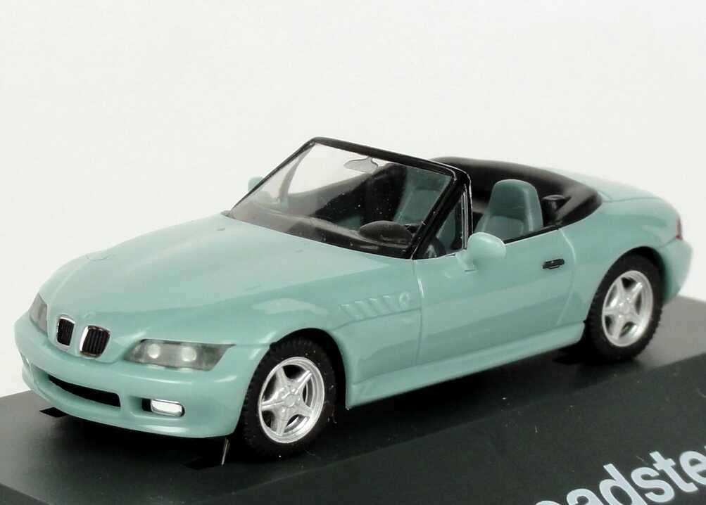 1 87 Bmw Z3 Bright Turquoise Green Dealer Edition Oem Herpa 80419420385 Ebay