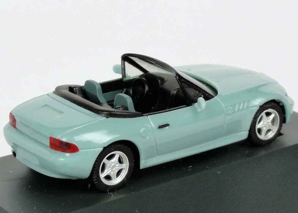 1 87 Bmw Z3 Bright Turquoise Green Dealer Edition Oem