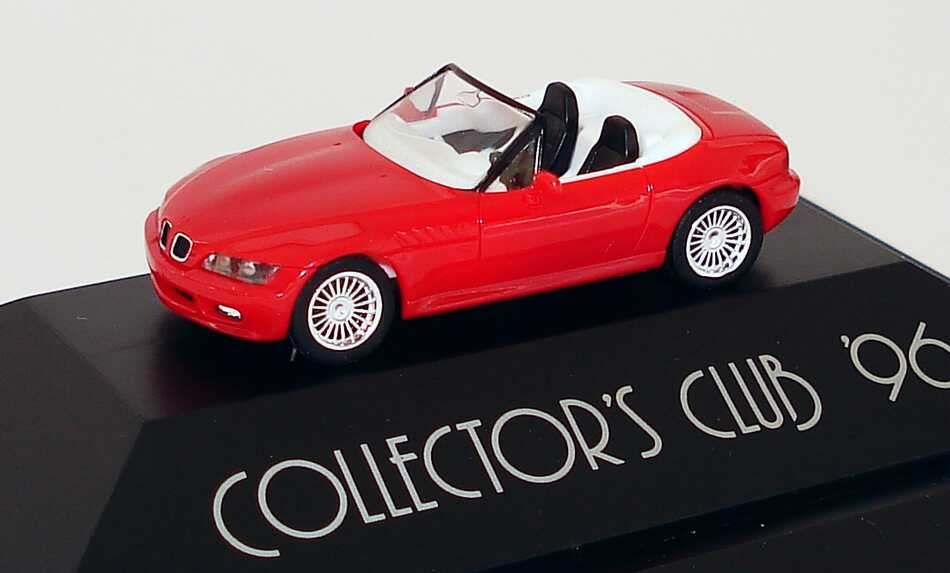 "1:87 BMW Z3 rot mit Alpina-Felgen ""Collector´s Club ´96"" (oV)"