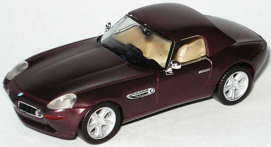 1:87 BMW Z8 (E52) bordeaux-met., mit Hardtop (ohne Klappbox) (oV)