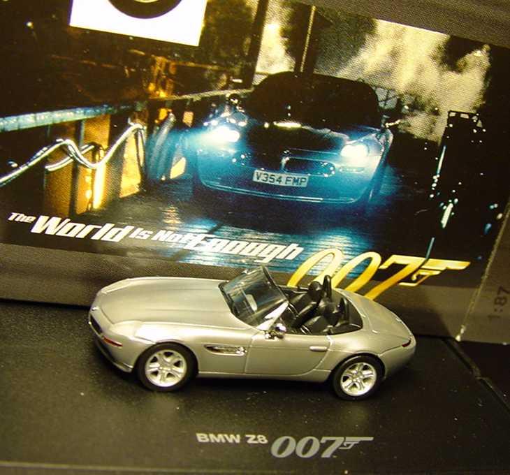 Bmw Z8 Bond: BMW Z8 Roadster (E52) Titansilber-met. James Bond 007