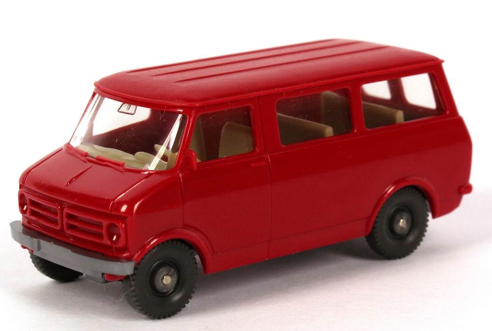 1:87 Bedford Blitz Bus rot (oV)