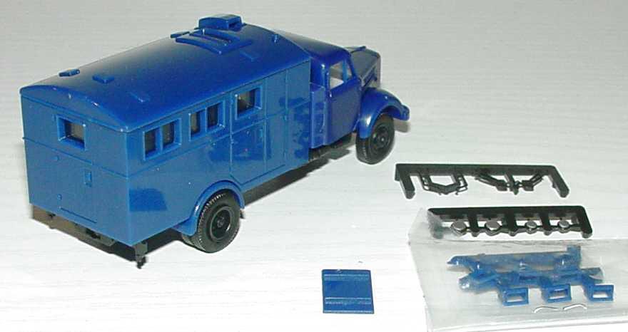 Borgward B4500 Küchenwagen THW-blau Albedo 115140 in der 1zu87.com ...