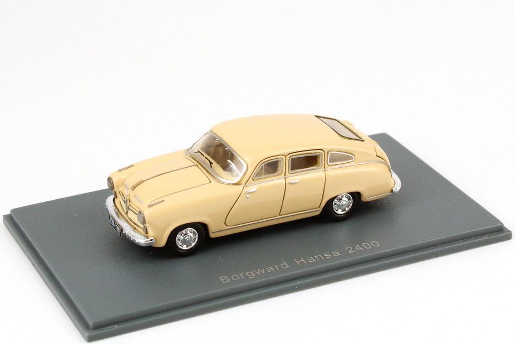 1:87 Borgward Hansa 2400 Schrägheck (1955) beige