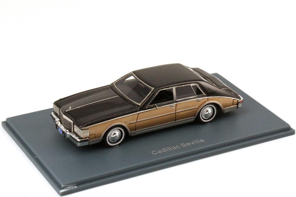 1:87 Cadillac Seville 1980 braun-met. / gold-met.