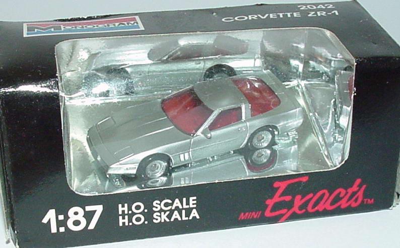 1:87 Chevrolet Corvette ZR-1 (C4) silber-met.