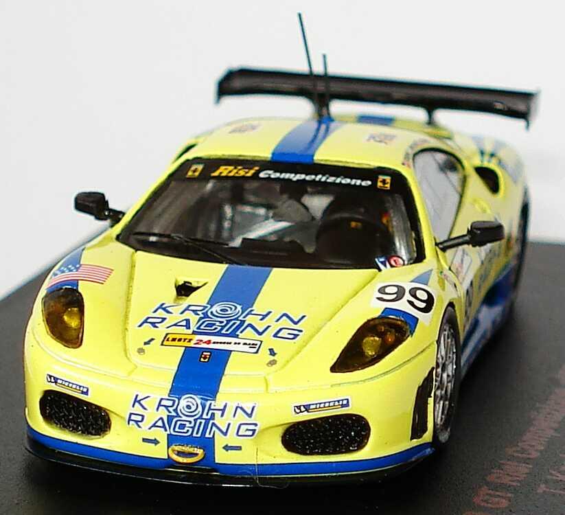 62 Risi Competizione Ferrari 430 Gt: Ferrari F430 GT2 24h Von Le Mans 2007 Risi Competizione