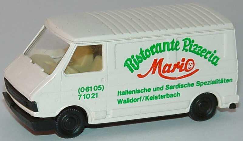 1 87 fiat 242 kasten ristorante pizzeria mario walldorf pralin. Black Bedroom Furniture Sets. Home Design Ideas