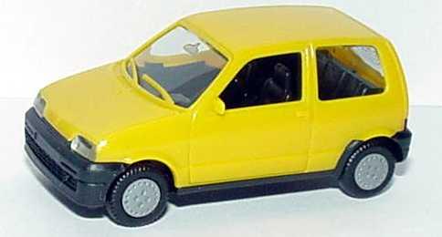 Foto 1:87 Fiat Cinquecento gelb - herpa 021141