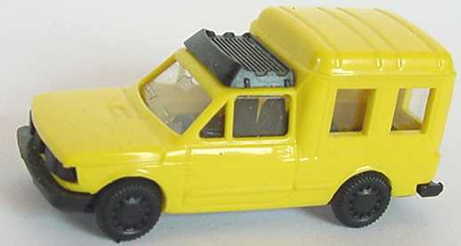 Foto 1:87 Fiat Fiorino Kombi zinkgelb Praliné