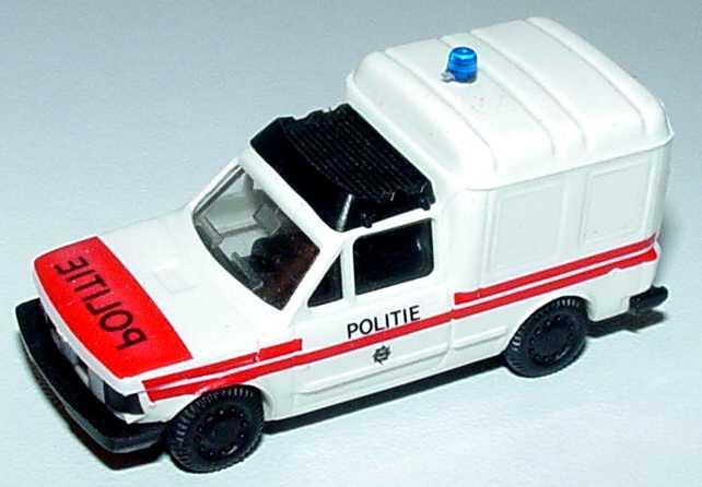 Foto 1:87 Fiat Fiorino Politie (Polizei NL) Praliné 80122