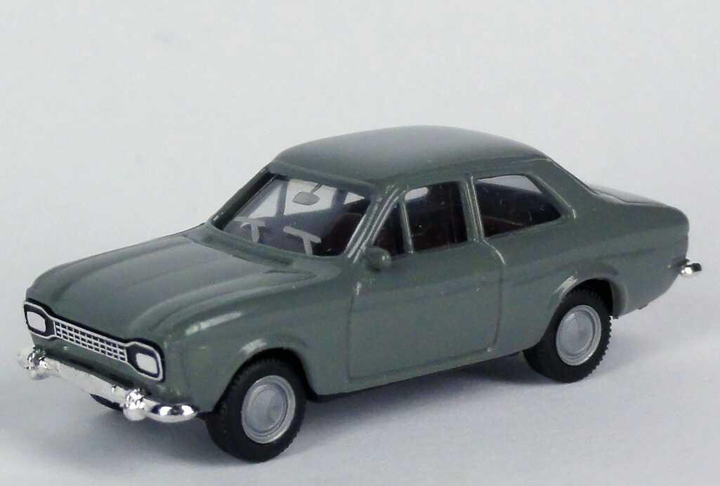 1:87 Ford Escort (MK1, Hundeknochen) grau (oV)