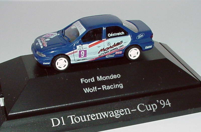 Foto 1:87 Ford Mondeo Stufenheck ADAC TW-Cup 1994 Wolf-Racing Nr.9 Oestereich - Rietze 90113