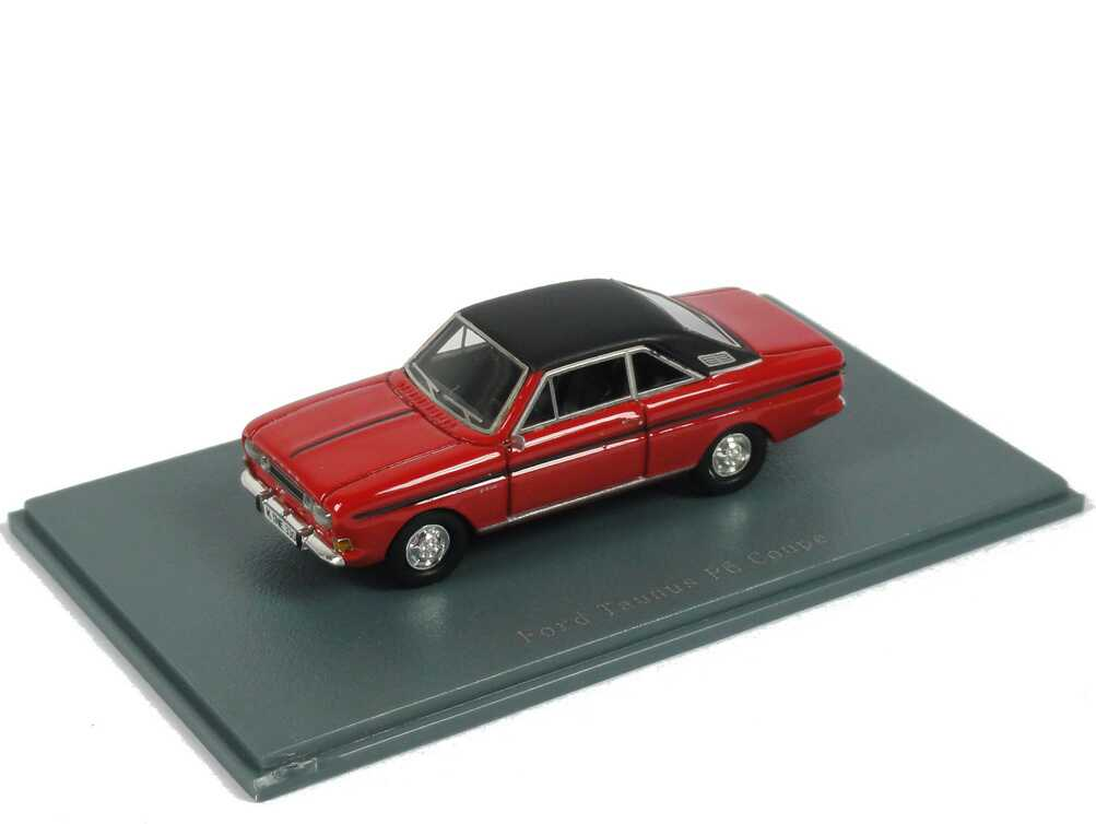 1:87 Ford Taunus 15m RS Coupé (P6) rot/schwarz
