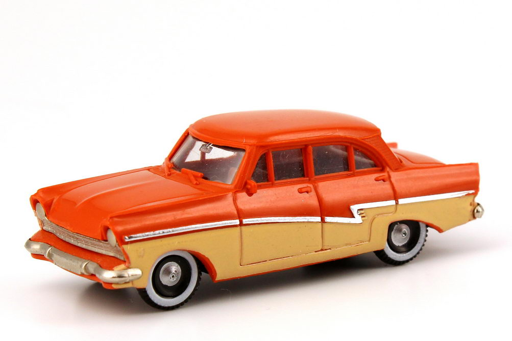 1 87 ford taunus 17m p2 deluxe orange brown beige. Black Bedroom Furniture Sets. Home Design Ideas