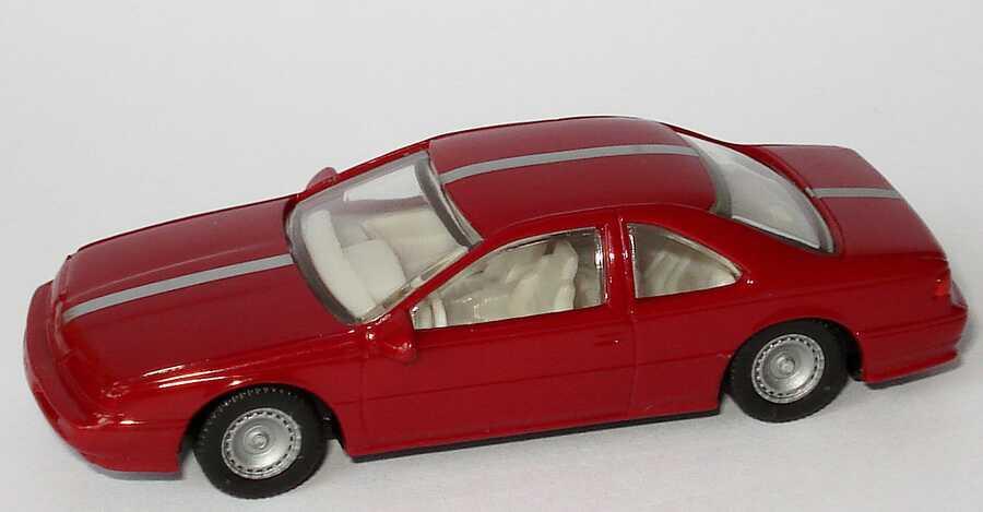 1:87 Ford Thunderbird ´89 weinrot mit silbernem Racingstreifen (oV)