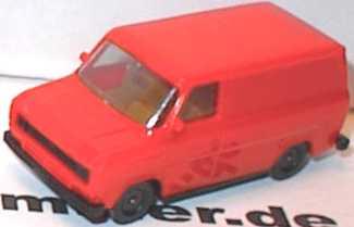 1:87 Ford Transit MK2 Kasten blaßrot (oV)