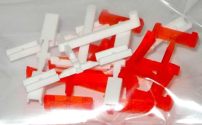 hella warnleuchten rtk 6 10 st ck orange wei herpa 052153 bild 2. Black Bedroom Furniture Sets. Home Design Ideas