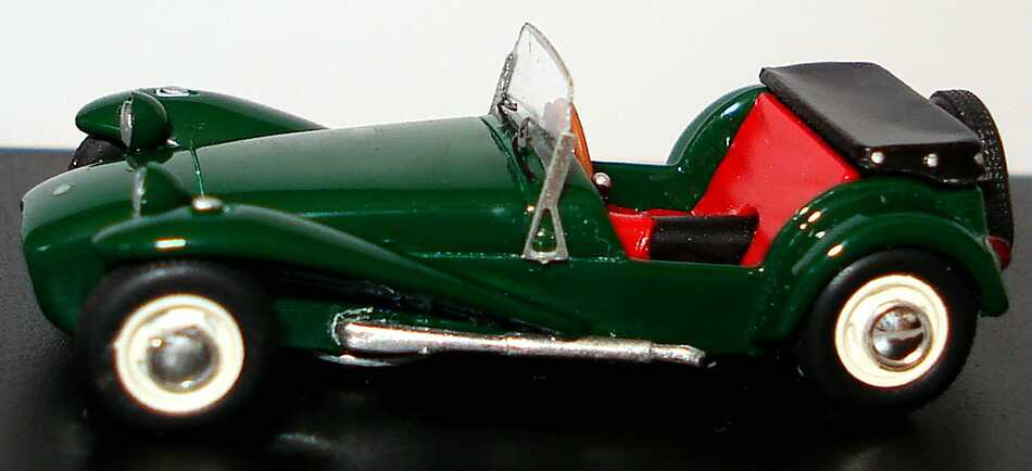 Lotus Super Seven (Serie II) racinggreen Spark 87S033 - Bild 3