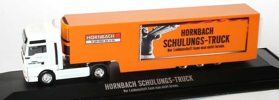 """1:87 MAN TG-A XXL Fv Cv KükoSzg Cv 2/3 """"Hornbach Schulungs-Truck"""""""