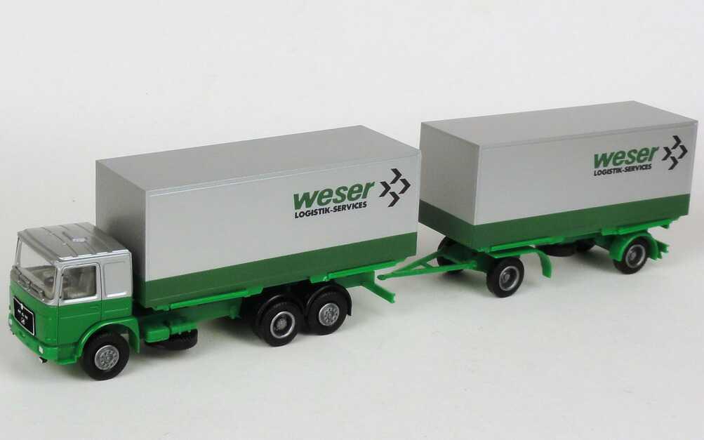"1:87 MAN WKoHgz 3/2 ""Weser Logistik-Services"" (Schlüter Sondermodell)"