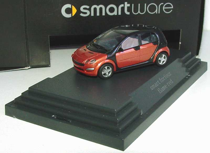 1:87 MCC Smart Forfour flame-red-met. (MCC)