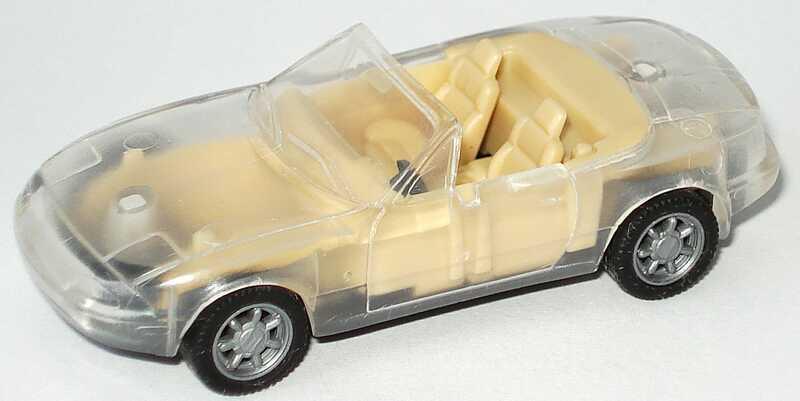 1 87 Mazda Mx 5 Transparent Herpa 021418