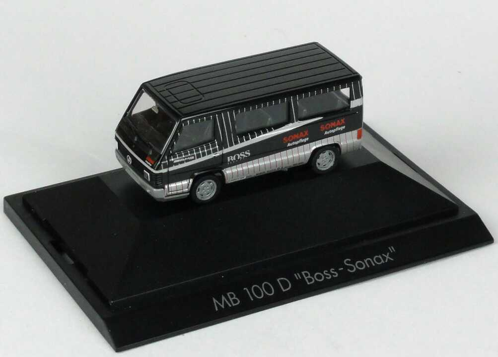"1:87 Mercedes-Benz 100D Bus ""AMG - Sonax"""