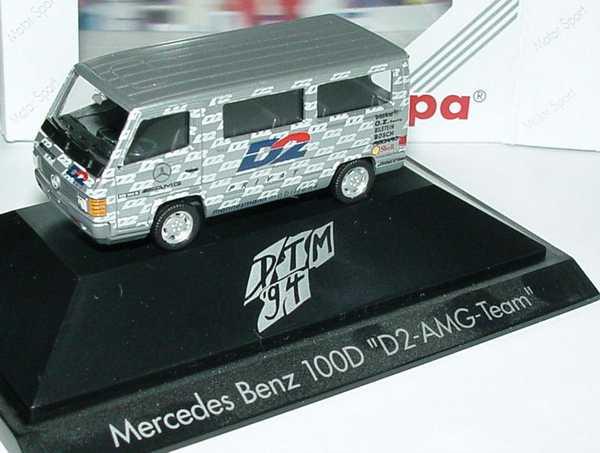"""1:87 Mercedes-Benz 100D Bus DTM 1994 """"AMG - D2 Privat"""""""