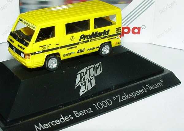 """1:87 Mercedes-Benz 100D Bus DTM 1994 """"Zakspeed - ProMarkt"""""""