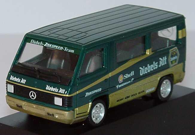 """1:87 Mercedes-Benz 100D Bus """"Diebels Alt Zakspeed"""" (oV)"""