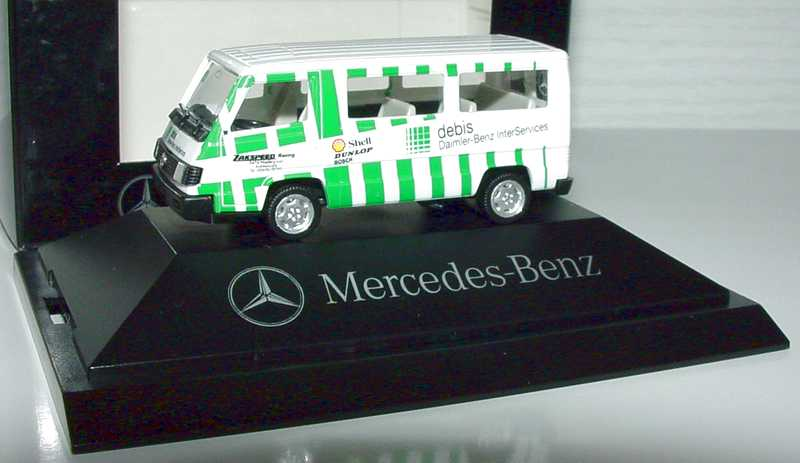 "1:87 Mercedes-Benz 100D II Bus ""Debis / Zakspeed Racing"" (MB)"