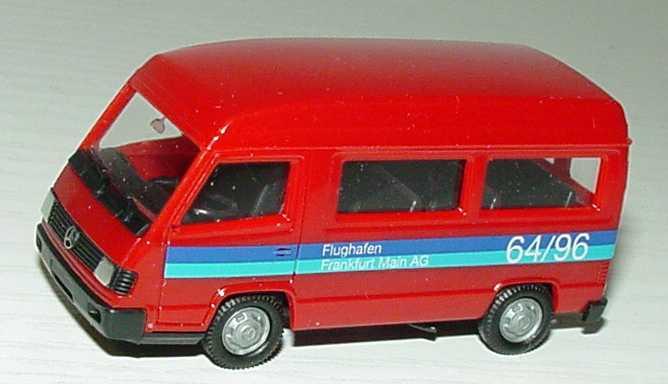 """1:87 Mercedes-Benz 100 II Bus Hochdach """"Flughafen Frankfurt, 64/96"""""""