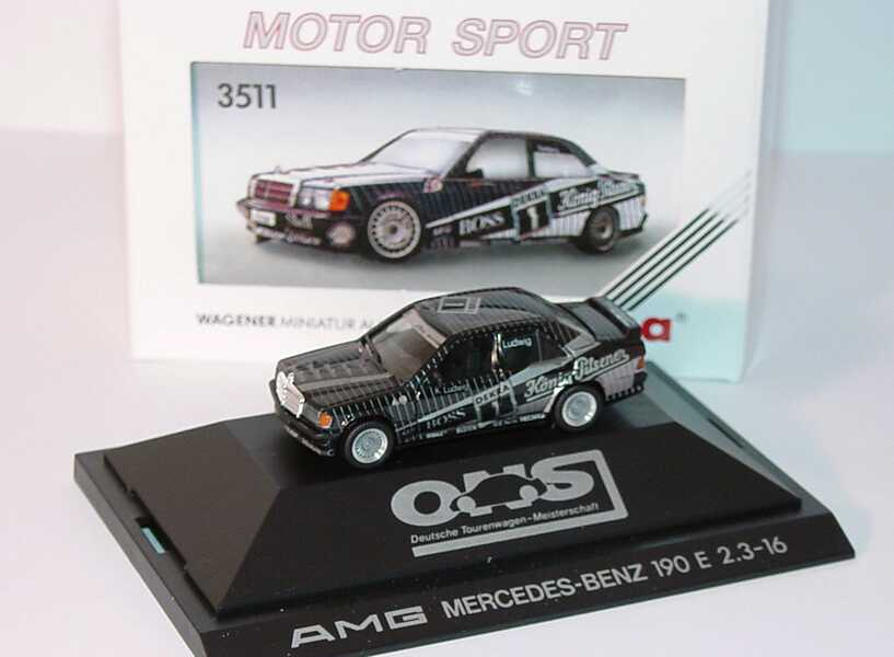 "1:87 Mercedes-Benz 190E 2.3-16 DTM 1989 ""AMG"" Nr.1, Klaus Ludwig"