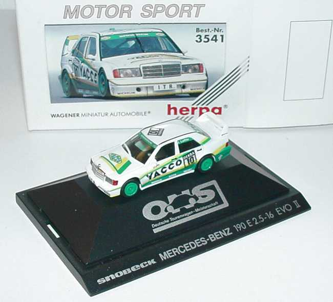 1:87 Mercedes-Benz 190E 2.5-16 Evolution II DTM 1991