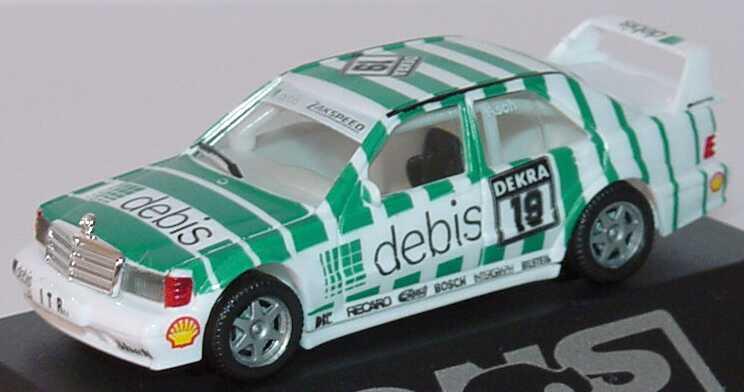 """1:87 Mercedes-Benz 190E 2.5-16 Evolution II DTM 1991 """"Zakspeed, Debis"""" Nr.19, Asch (oV)"""