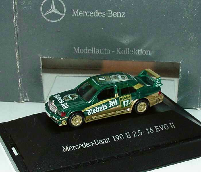 "1:87 Mercedes-Benz 190E 2.5-16 Evolution II DTM 1992 ""Zakspeed-Diebels"" Nr.17, Asch (MB)"
