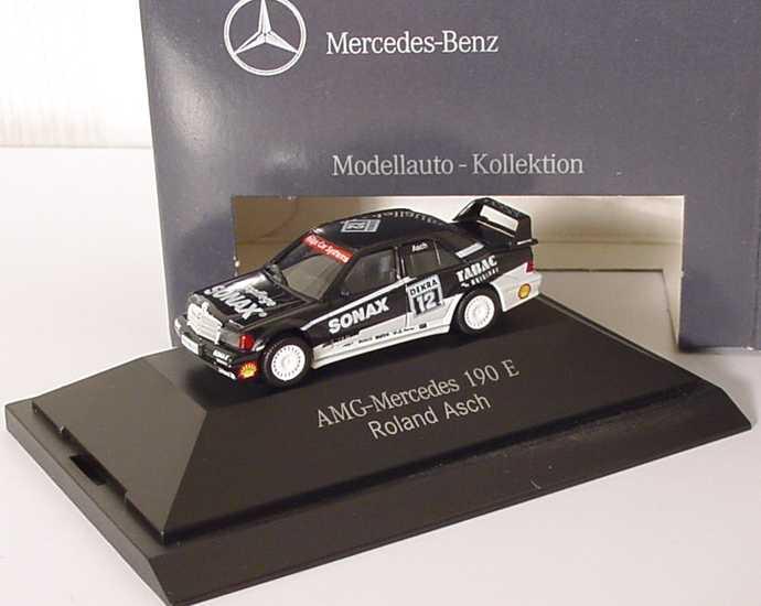 "1:87 Mercedes-Benz 190E 2.5-16 Evolution II DTM 1993 ""AMG-Sonax"" Nr.12, Roland Asch (MB)"