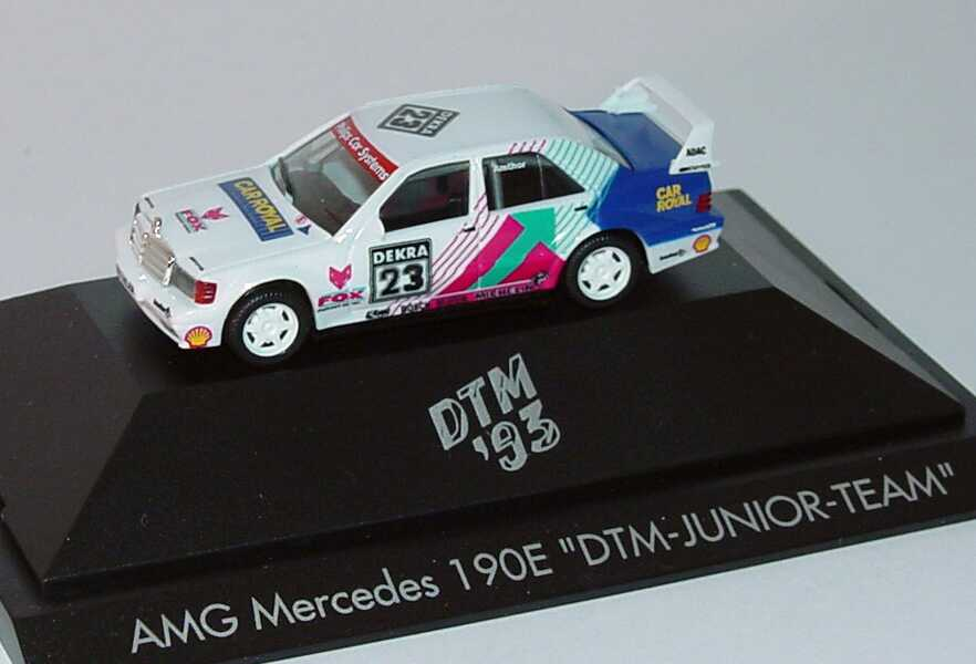 "1:87 Mercedes-Benz 190E 2.5-16 Evolution II DTM 1993 ""DTM Junior-Team"" Nr.23, Amthor"