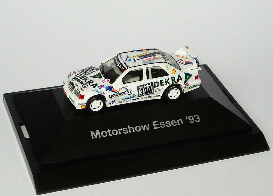1 87 mercedes 190e evo ii lueg dekra motorshow essen 93 ebay. Black Bedroom Furniture Sets. Home Design Ideas