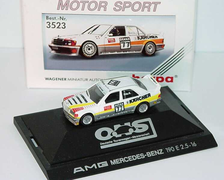 1:87 Mercedes-Benz 190E 2.5-16 Evolution I DTM 1990