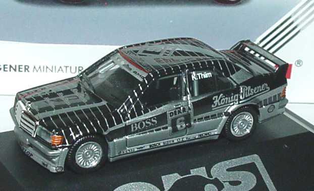 "1:87 Mercedes-Benz 190E 2.5-16 Evolution I DTM 1990 ""AMG, König-Pilsener"" Nr.6, K. Thiim (oV)"