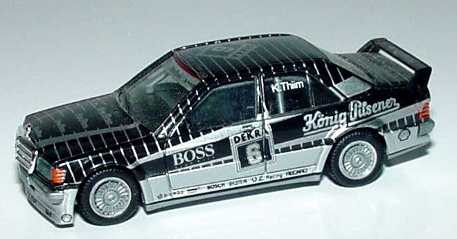 "1:87 Mercedes-Benz 190E 2.5-16 Evolution I DTM 1990 ""AMG, König-Pilsener"" Nr.6, K. Thiim (ohne PC-Box)"