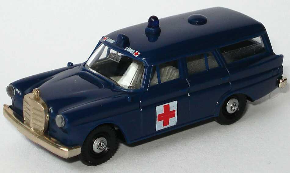 Brekina Mercedes Benz  Krankenwagen