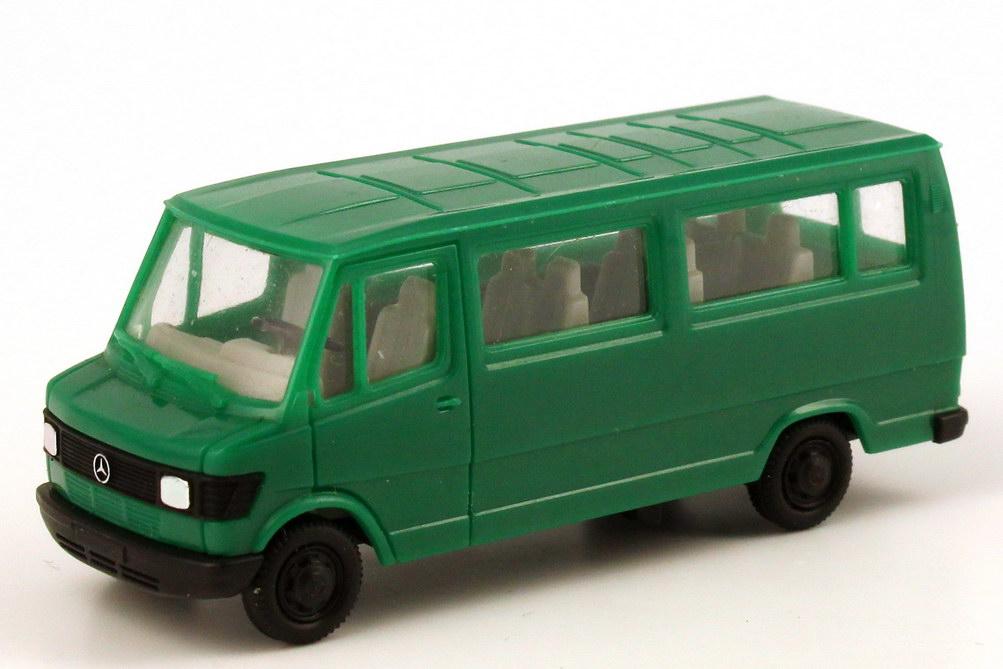 Mercedes-Benz 207D Bus grün herpa 4070 - Bild 1